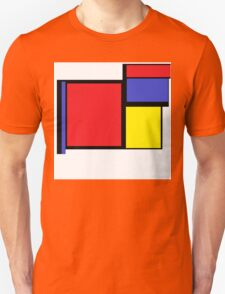 Tribute to 80's Mondrian Unisex T-Shirt