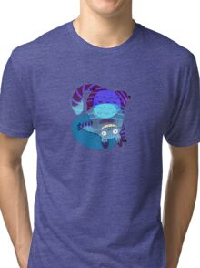 The Chesire-Cat Tri-blend T-Shirt