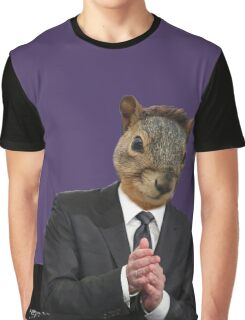 Jimmy Squirrel Graphic T-Shirt