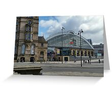 Liverpool Lime Street Station Greeting Card