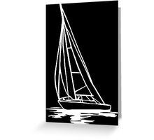 Sailingboat Greeting Card