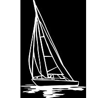 Sailingboat Photographic Print