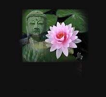 buddha lotus Womens Fitted T-Shirt