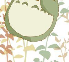 Totoro's flowers Sticker