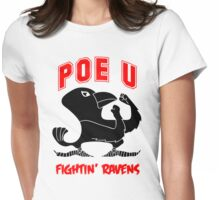 Poe University Fightin' Ravens Womens Fitted T-Shirt