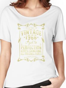 Premium vintage 1966 aged to perfection Women's Relaxed Fit T-Shirt