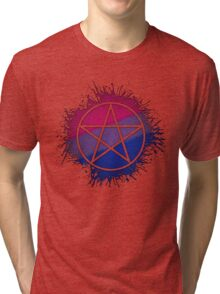 Bisexual Pride Pentacle Tri-blend T-Shirt