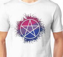 Bisexual Pride Pentacle Unisex T-Shirt