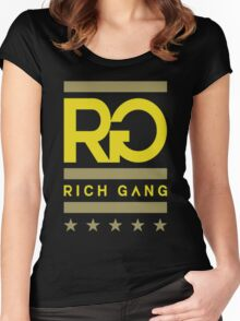 Rich gang Women's Fitted Scoop T-Shirt