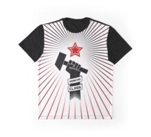 Raised Fist of Protest - Working Class Graphic T-Shirt