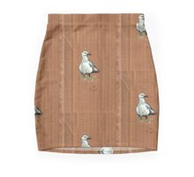Gulls on Grass #2 Mini Skirt