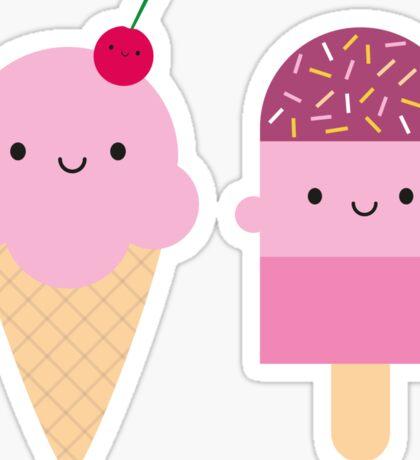 Summer Ice Cream Treats Sticker