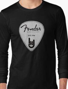 FENDER PICK PLECTRUM Long Sleeve T-Shirt