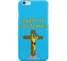 Simpsons Christ Is Watching You iPhone Case/Skin