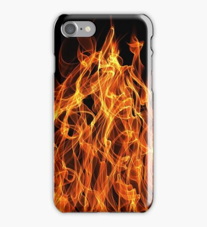 On Fire iPhone Case/Skin