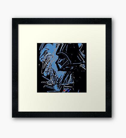 Darth Framed Print