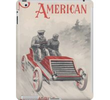 Artist Posters Scientific American automobile and outing number price 10 cents 0688 iPad Case/Skin