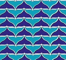 whale tale tesselation by sophiesquirels