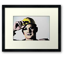 Butch Queen Framed Print