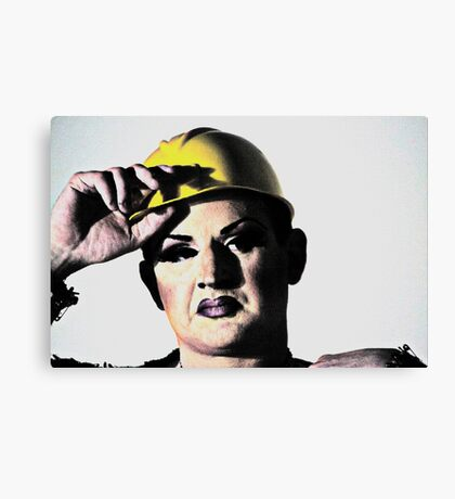 Butch Queen Canvas Print