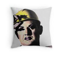 Butch Queen Throw Pillow