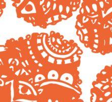 Clemson Doodle Sticker