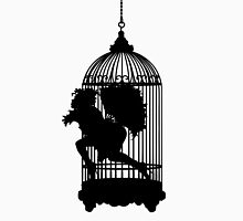 Fan Dancer Caught in a Cage Unisex T-Shirt