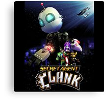 Ratchet & Clank 2016 movie animation Canvas Print