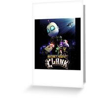 Ratchet & Clank 2016 movie animation Greeting Card