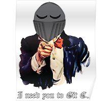 Git Gud (Dark souls) Poster