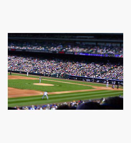 Baseball game Photographic Print