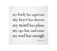 Soul Has Enough Scarf