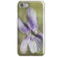 Sweet Wood Violet iPhone Case/Skin