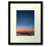 Sunset in Batumi, Georgia Framed Print