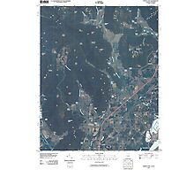 USGS TOPO Map Alabama AL Doran Cove 20100510 TM Photographic Print