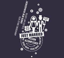 Hochzeit / Wedding / Mariage / Casamiento / Matrimonio (White) Unisex T-Shirt