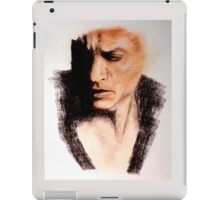 Charcoal Portrait - Shah Rukh Khan iPad Case/Skin