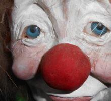 Scary Clown Sticker