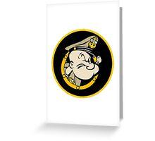 Chief Popeye, U.S. Navy Greeting Card