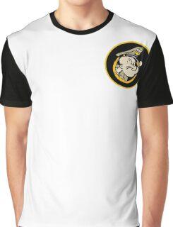Chief Popeye, U.S. Navy Graphic T-Shirt