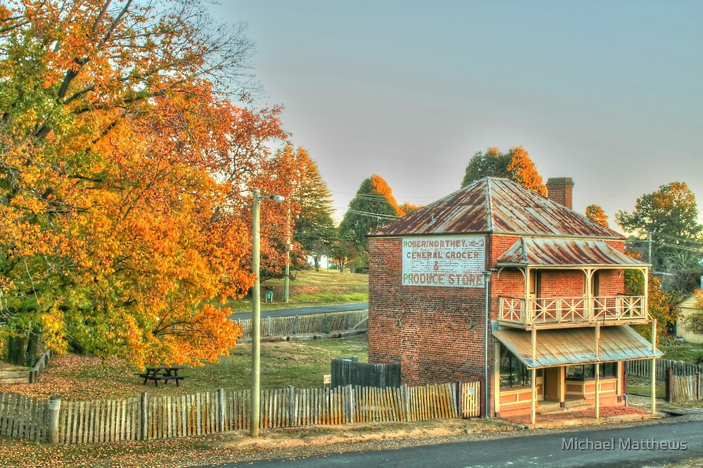 Hill End icon in HDR by Michael Matthews