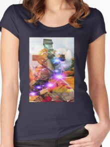 Dreamscape Women's Fitted Scoop T-Shirt