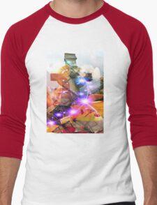 Dreamscape Men's Baseball ¾ T-Shirt