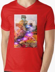 Dreamscape Mens V-Neck T-Shirt