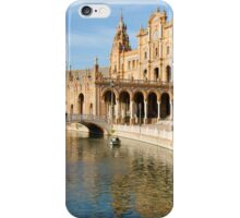 Plaza de Espana river - Seville  iPhone Case/Skin