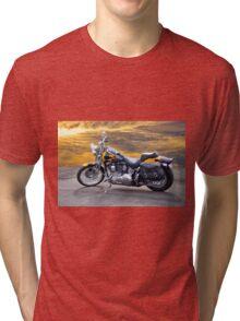 Harley Davidson Softail Motorcycle Tri-blend T-Shirt