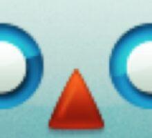 Robot face emoji Sticker