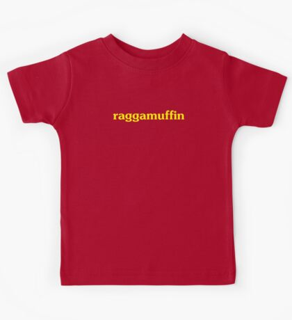Raggamuffin T-shirt and Top - Reggae Lovers Clothing Kids Tee