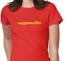 Raggamuffin T-shirt and Top - Reggae Lovers Clothing Womens Fitted T-Shirt
