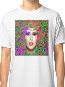 Flowers in your Hair Classic T-Shirt